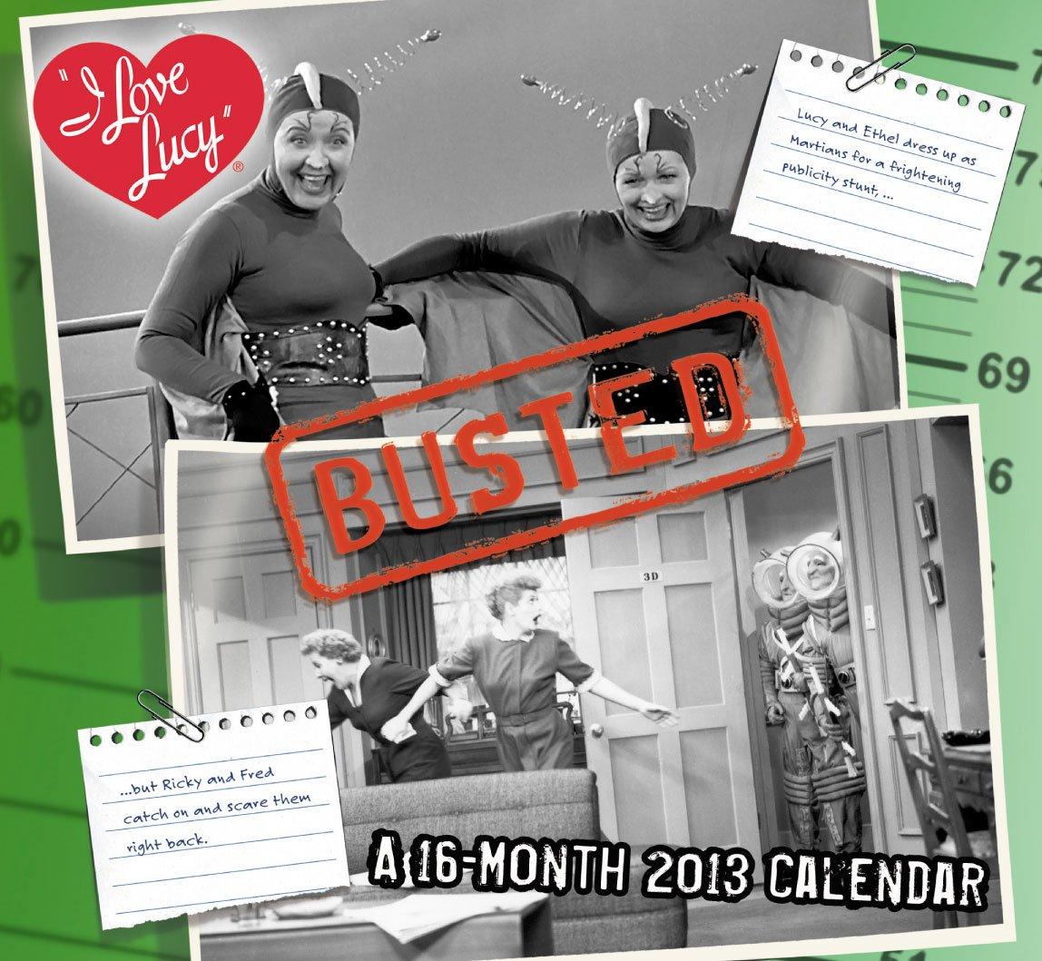 2013 I Love Lucy Mini Wall Calendar PDF