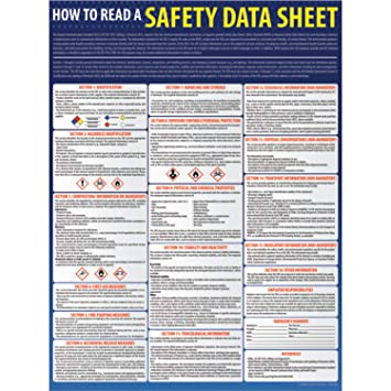 How to Read A Safety Data Sheet (SDS) Poster - 18