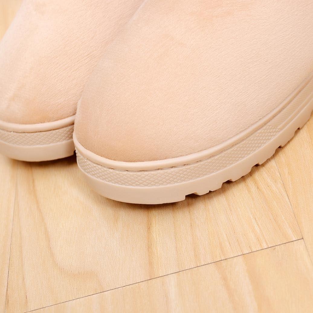 Bottes Femme Hiver SHOBDW Bottines Chaud Bowknot Neige Automne Noir Marron Chaussures