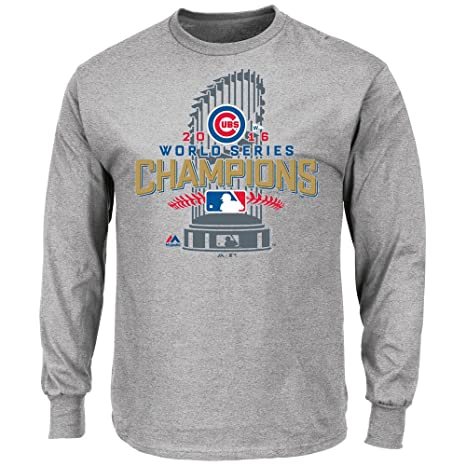 a32cd8ce6fc Chicago Cubs 2016 World Series Champs Locker Room Long Sleeve T-Shirt 5XL