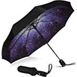 Repel Umbrella Windproof Travel Umbrella - Compact, Light, Automatic, Strong and Portable - Wind Resistant, Small Folding Bac