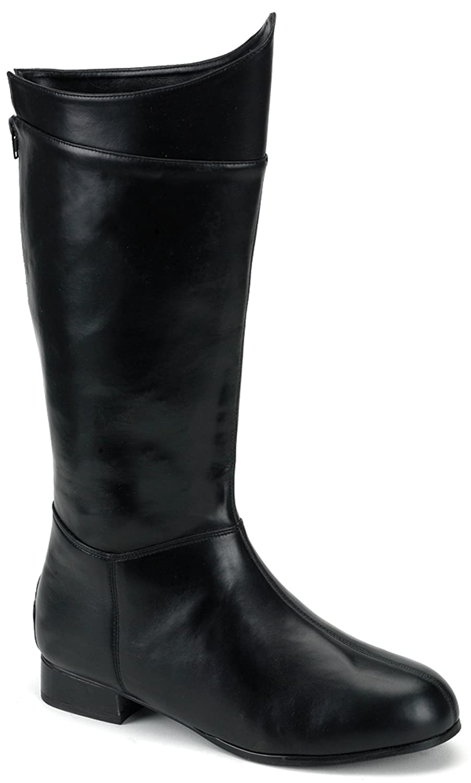 Super Hero (Black) Adult Boots - Medium 10-11 Pleaser Shoes