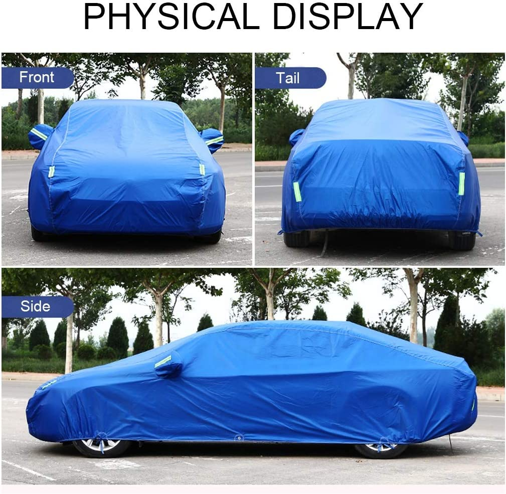 Copriauto Compatibile Con BMW 6-Series//640-650 Copriauto Telo Copriauto Auto Impermeabile Copriauto Auto Pieghevole Anti UV Copertura Auto Protettiva Telo Di Copertura Per Auto Color : Silver