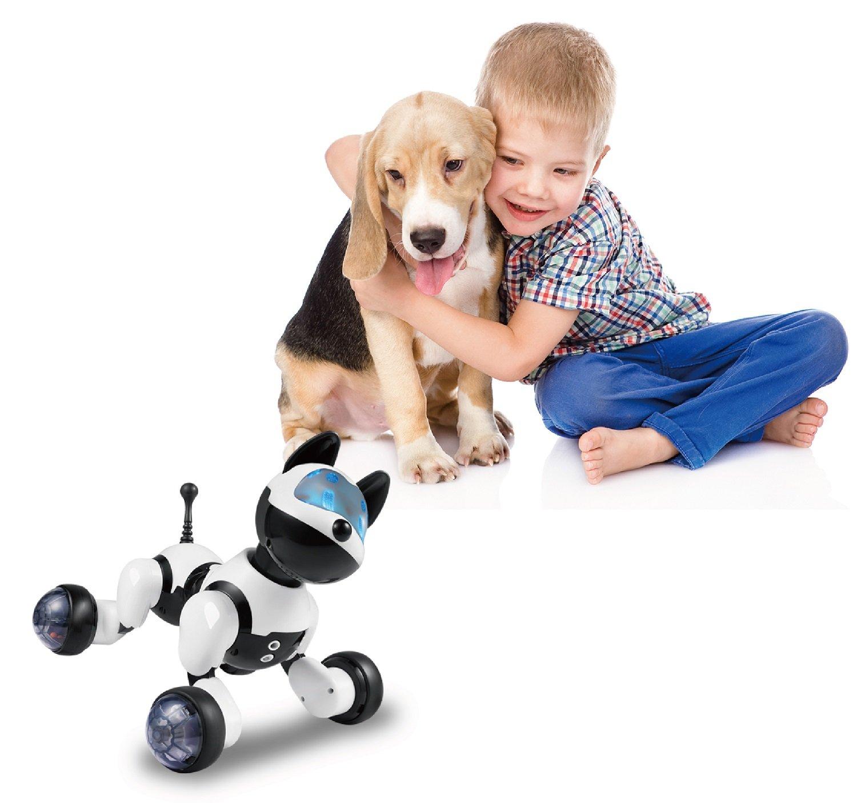 Hi-Tech Wireless Remote Control Robot Dog Smart Interactive Puppy Senses Gesture, Sings, Dances for Boys, Girls, Kids and Children by HI-TECH OPTOELETRONICS CO., LTD. (Image #7)