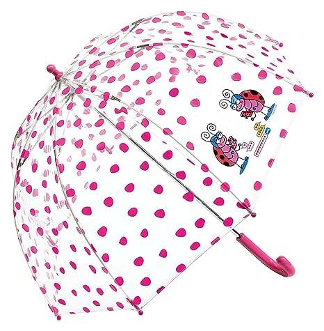 Paraguas Kukuxumusu Mariquitas Fucsia