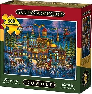 500 Piece Dowdle Folk Art SG/_B01FSY7CNK/_US Trick or Treat Dowdle Jigsaw Puzzle