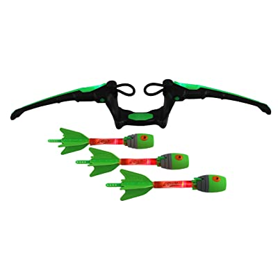 Zing Air Storm Fire Tek Bow, Green: Toys & Games