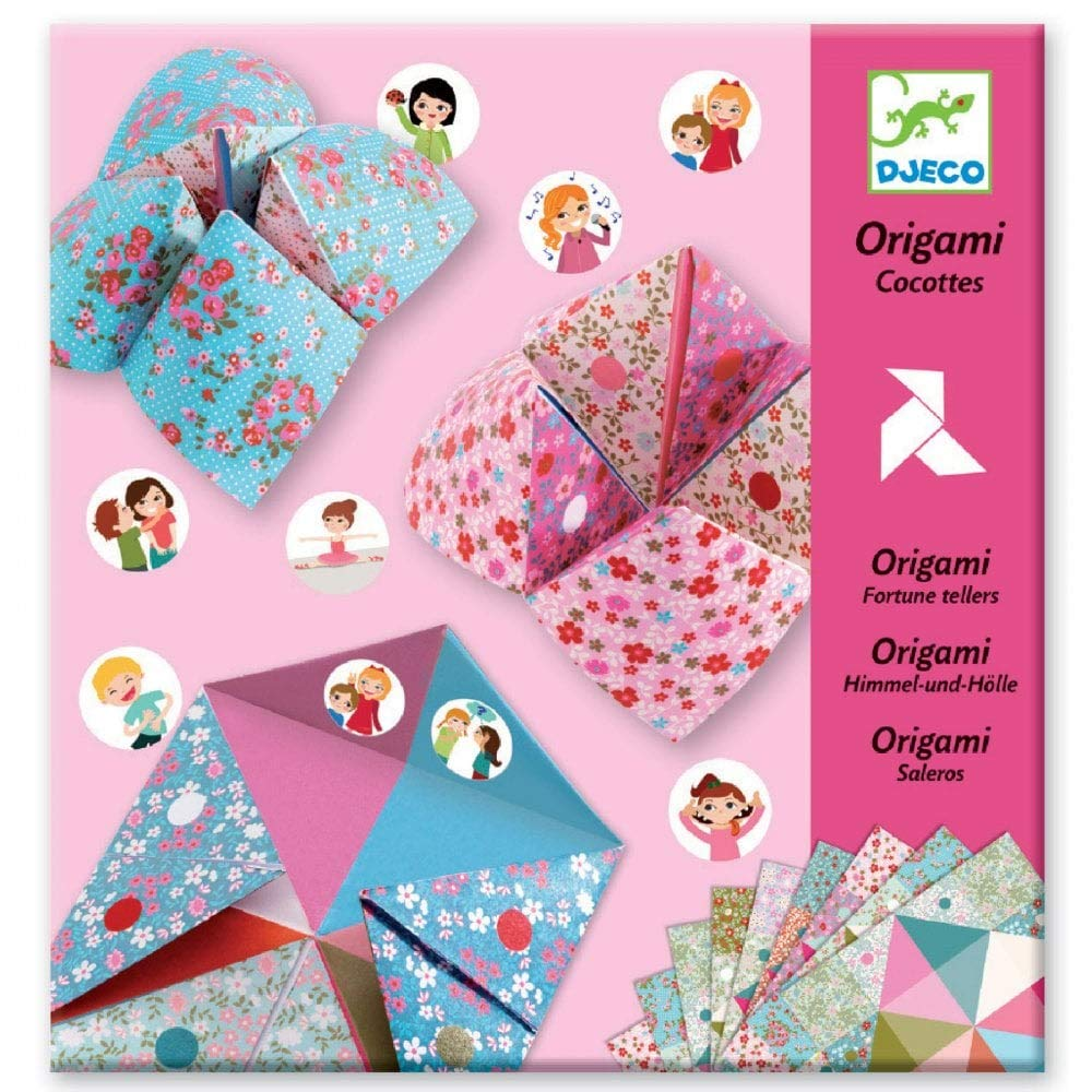 How to Make Paper Fortune Tellers - Inner Child Fun | 1000x1000