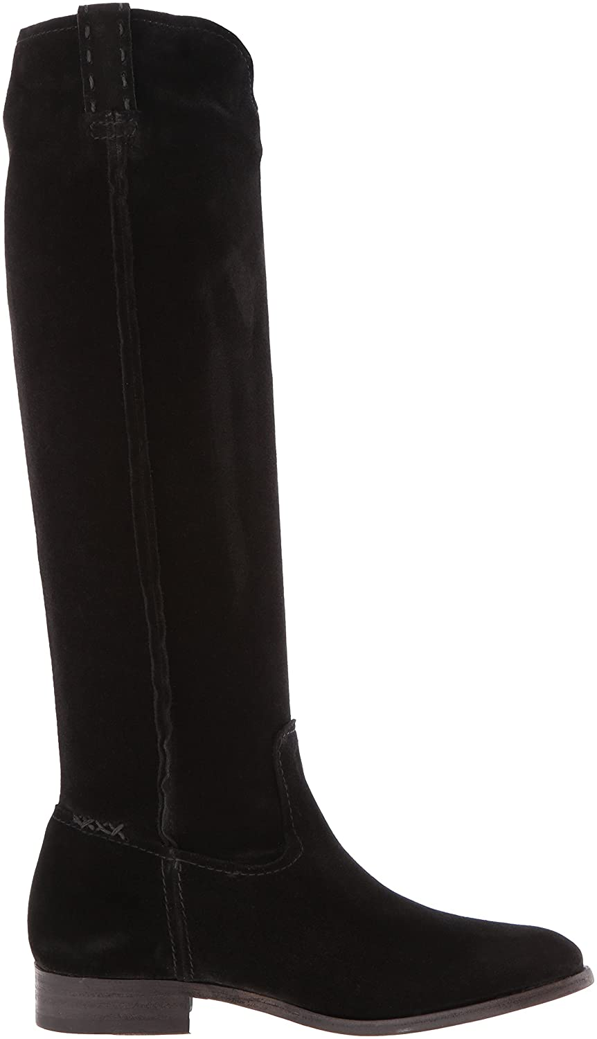 FRYE Women's Cara Tall Suede Slouch Boot B01AA8MN9W 6 B(M) US|Black