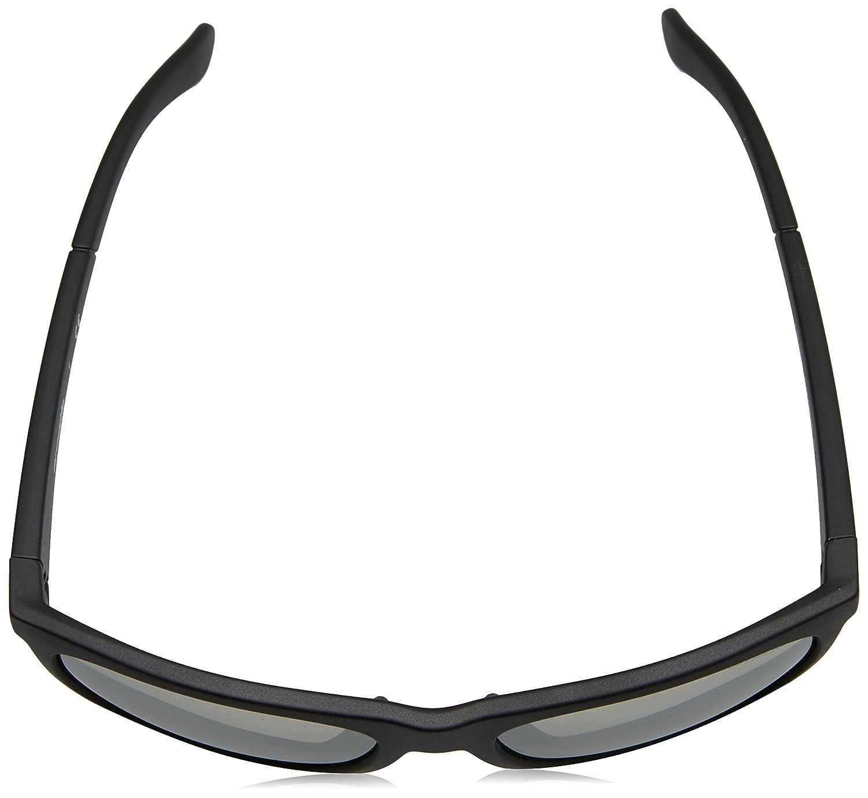 59 mm 0AN4143 MOD.4143SUN23506G58/_23506G Arnette Mens Fire Drill Non-Polarized Iridium Square Sunglasses Matte Silvery Black