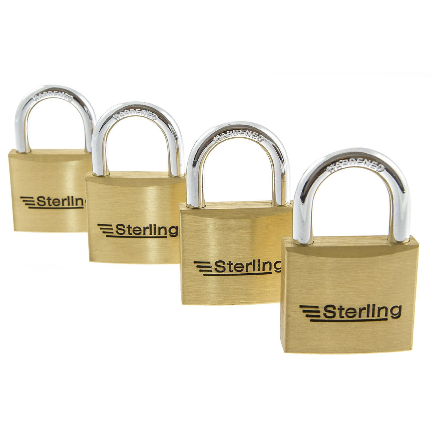 New Cheapest On 4 Dial Sterling 40mm Brass Combination Padlock