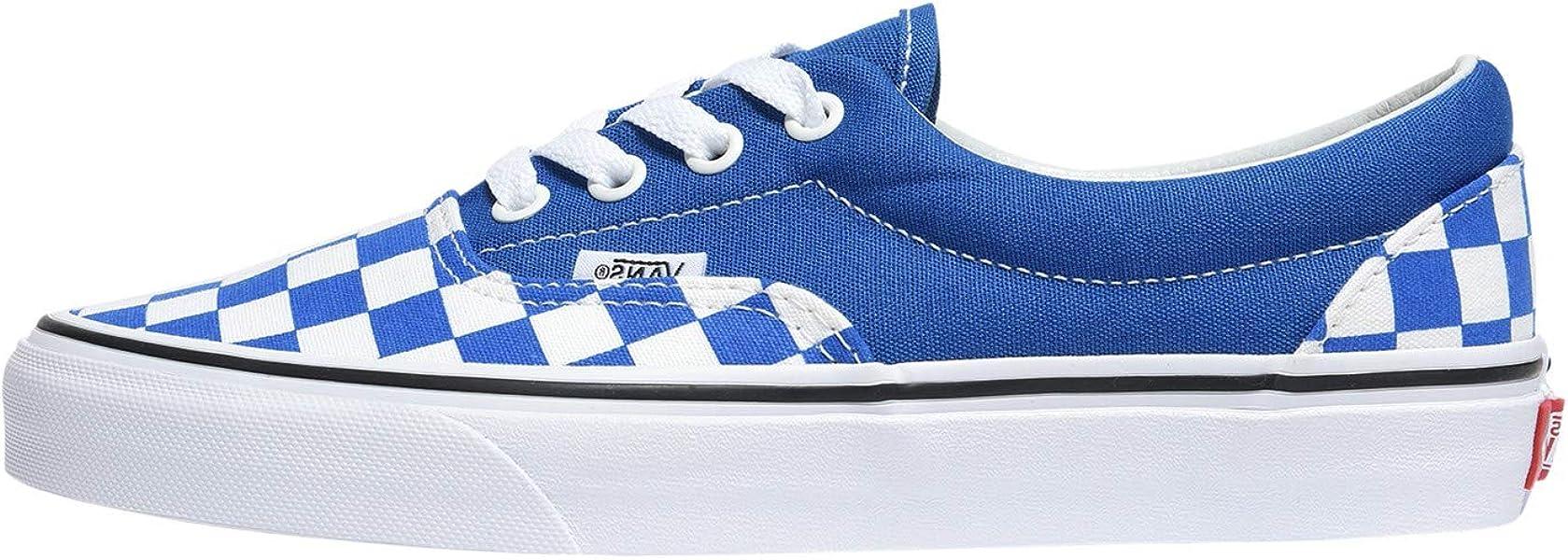 5704bb39c1 Vans (Checkerboard Lapis Blue True White VN0A38FRVOU Mens 7.5 Womens 11
