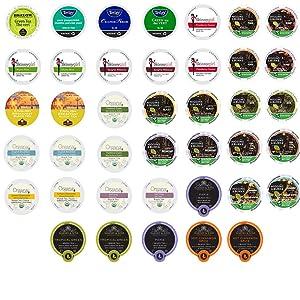 40-count TEA Single Serve Cups for Keurig K Cup Brewers Variety Pack Sampler