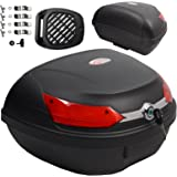 A-pro top case box, universal quick release, motorcycle scooter, luggage, quad, 46 LT