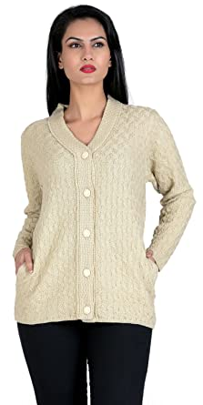 2bdf1709f5 aarbee Women s Blended Cardigan  Amazon.in  Clothing   Accessories