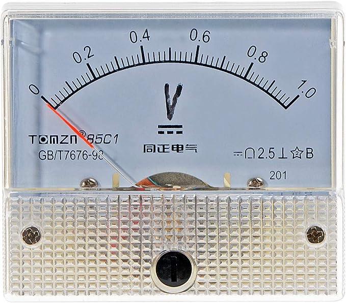DC 15V Pannello analogico Volt Voltage Test Meter Voltmetro Gauge 85C1 0-15V