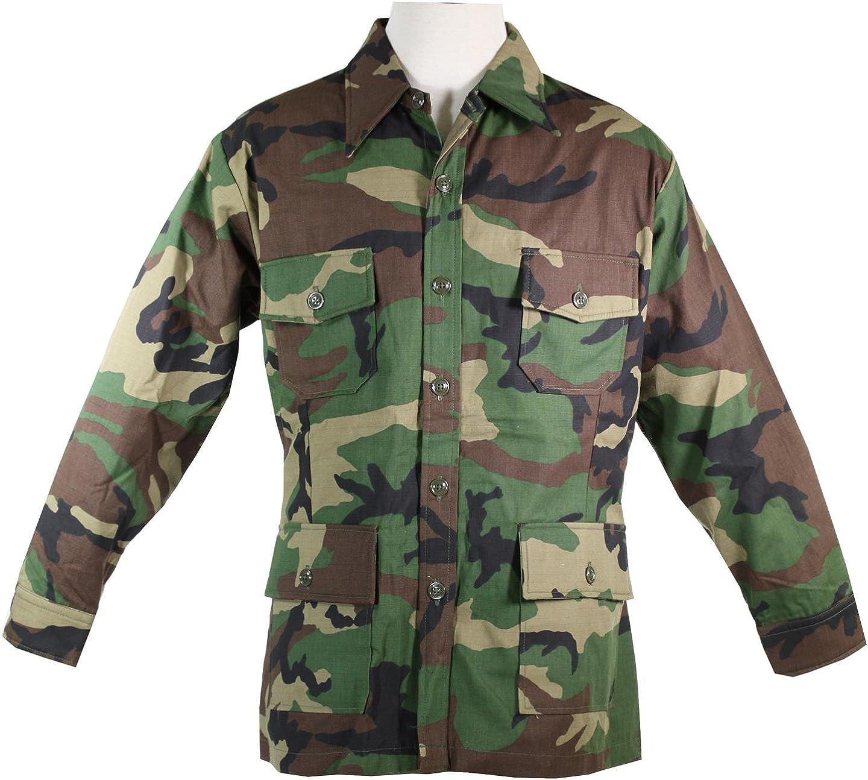 ARMY SHIRT BDU 4 POCKETS CAMOUFLAGE SHORT SLEEVES 4 Pockets Sizes L,XL