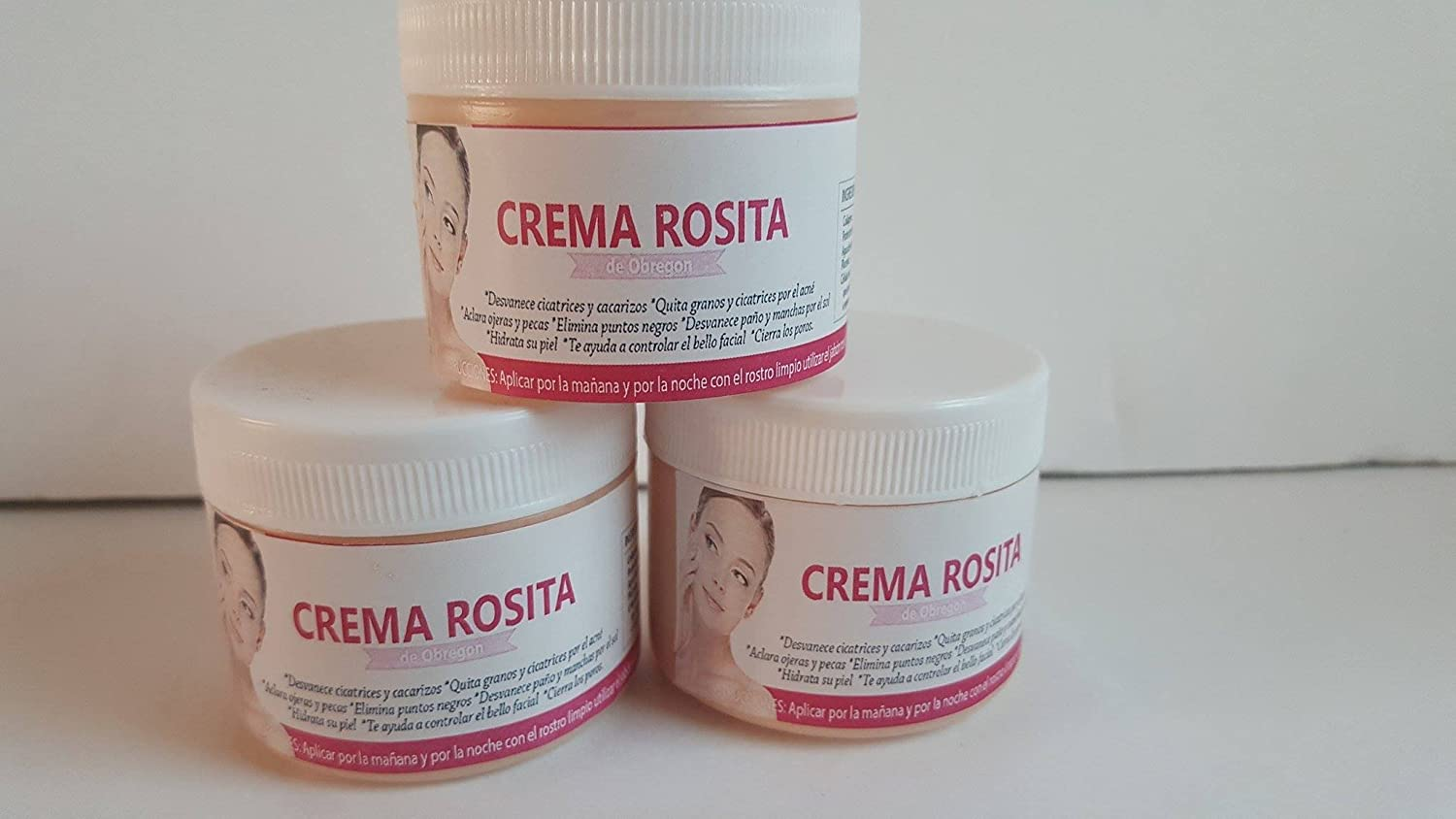 Amazon.com: Crema Rosita de Obregon: Beauty