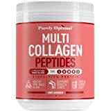 Premium Multi Collagen Powder - 5 Types of Hydrolyzed Collagen Peptides with Biotin, Hair Skin and Nails Vitamins, Bone & Joi