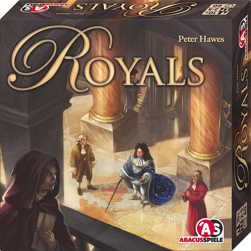 ABACUSSPIELE 03141 Royals Familien Strategiespiel