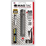 Maglite MAG-TAC Crowned Bezel Tactical Design LED Torch in Blister Pack, Urban Grey