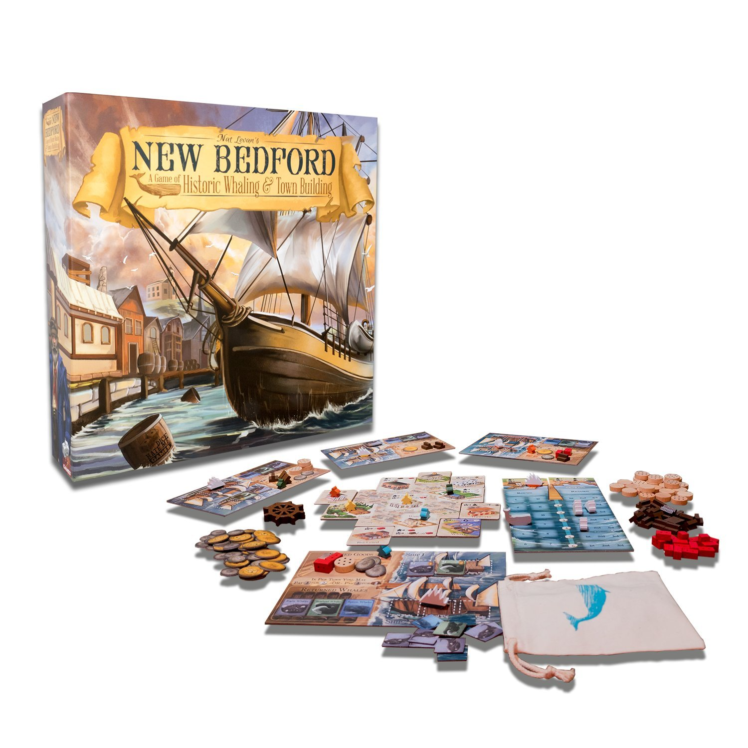 Amazon.com: Greater Than Games New Bedford Rising Tide Expansion Board Game: Toys & Games