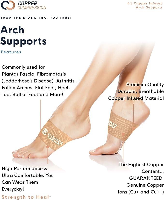 Copper Compression Copper Arch Supports