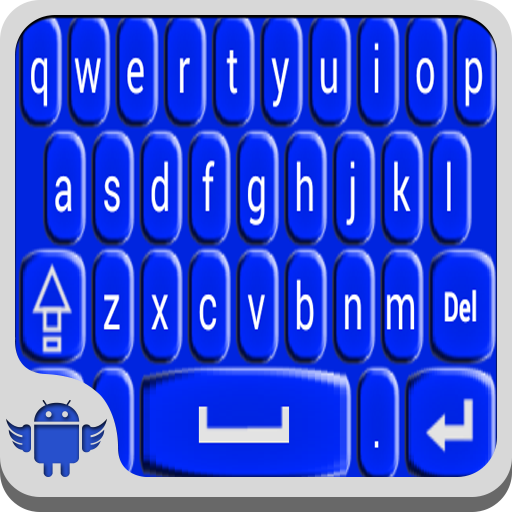 Blue Cyan Keyboard (Best Paid Keyboard For Android)