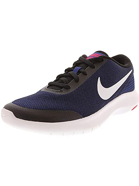 Nike W Flex Experience RN 7, Zapatillas de Running para Mujer, (Black/White/Deep Royal Blue/Rush Pink 008), 38.5 EU: Amazon.es: Zapatos y complementos