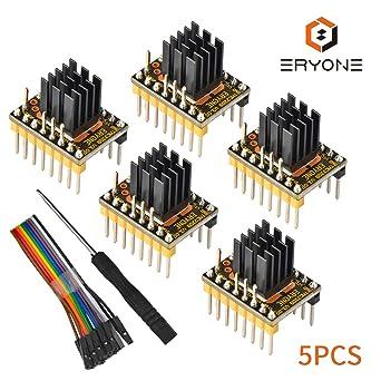 Eryone 5PCS TMC2209 Módulo de Controlador de Motor Paso a Paso ...