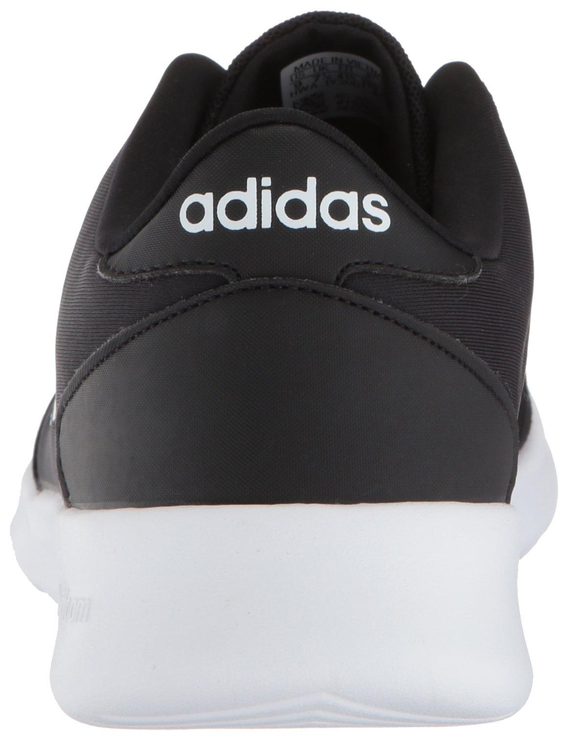 adidas Women's Cloudfoam QT Racer Running Shoe, Black/White/Carbon, 5 M US by adidas (Image #2)