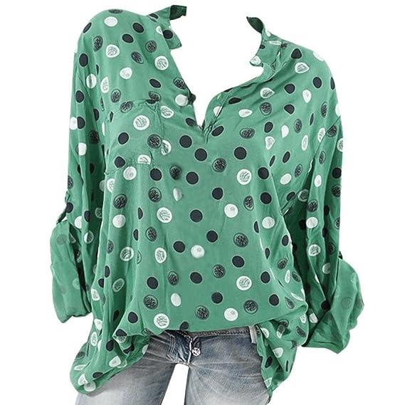 Leinen T-Shirts Bluse Kragen Sommer Damen Freizeit Locker Langärmlig Dünn Nett