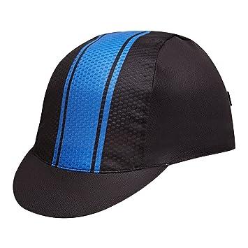 f42a66b1735 Santic Unisex Cycling Race Cap Summer Under helmet Cap Black  Amazon ...