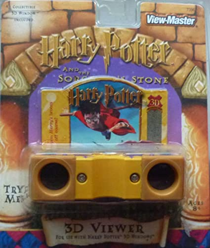 Harry Potter and the Chamber Of Secrets View-Master 21 3d Images 3 Reel Set