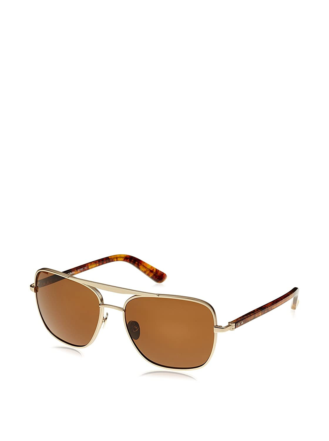 Calvin Klein CK7380S gafas de sol, Marrón (Light Gold/Brown), única (Talla del Fabricante: One Size) Unisex Adulto