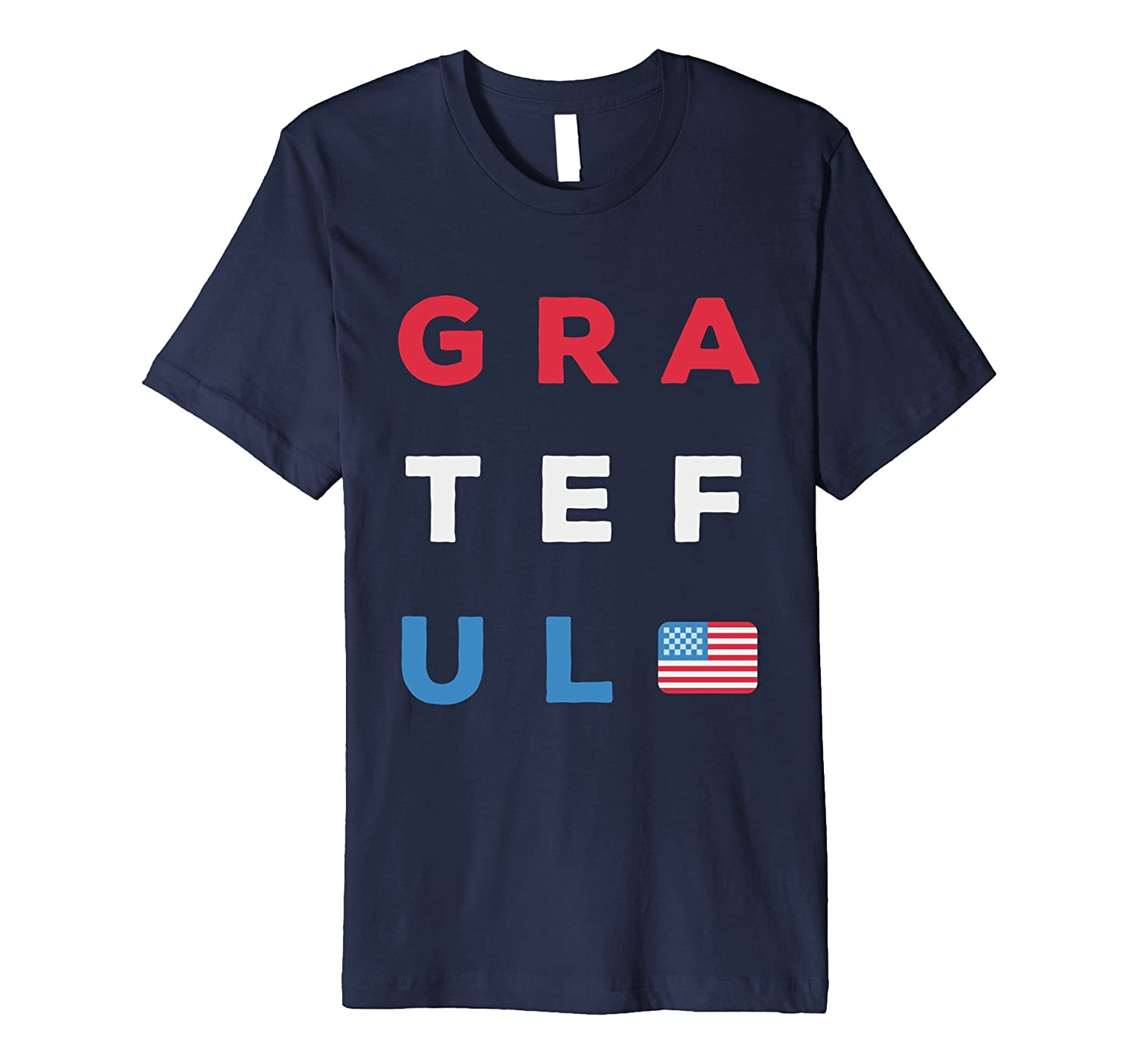 4th of July Shirts - Grateful for America Shirt-Vaci