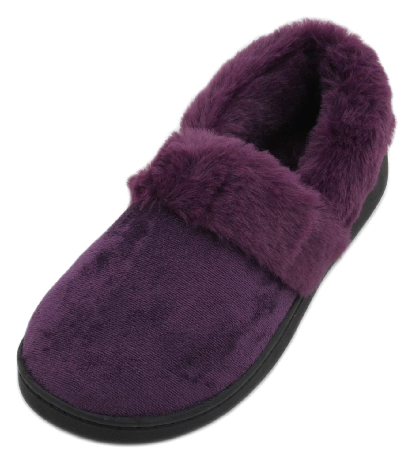 SlumberzzZ , B06XYMQTMD Chaussons pour Femme 13492 , Violet 4712249 - fast-weightloss-diet.space