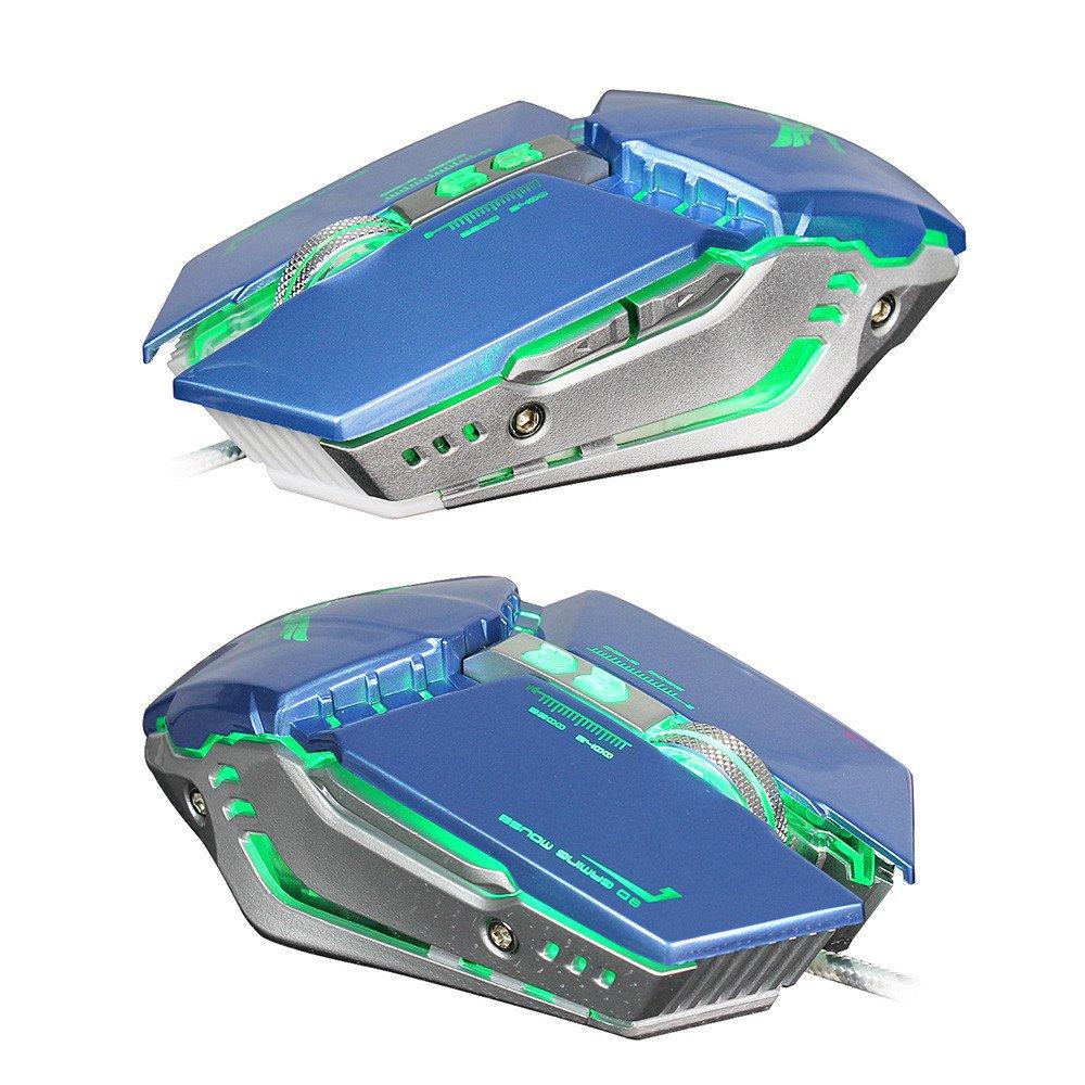 Amazon.com: Theshy ZERODATE X700 3200DPI - Ratón óptico con ...