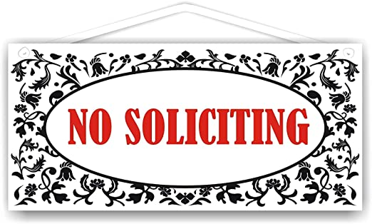 Hunnry No Soliciting Letrero de Placa de Madera Carteles de ...