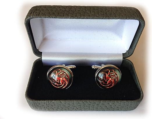 Juego de Tronos Gemelos y caja de presentación, Targaryen Red, Talla única: Amazon.es: Ropa y accesorios