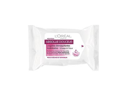 LOréal Paris Skin Expert Sublime Soft toallita de lavado y limpieza facial 25 pieza