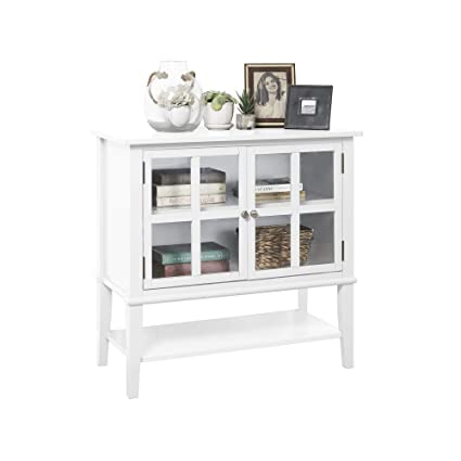 Magnificent Ameriwood Home Franklin 2 Door Storage Cabinet White Interior Design Ideas Ghosoteloinfo