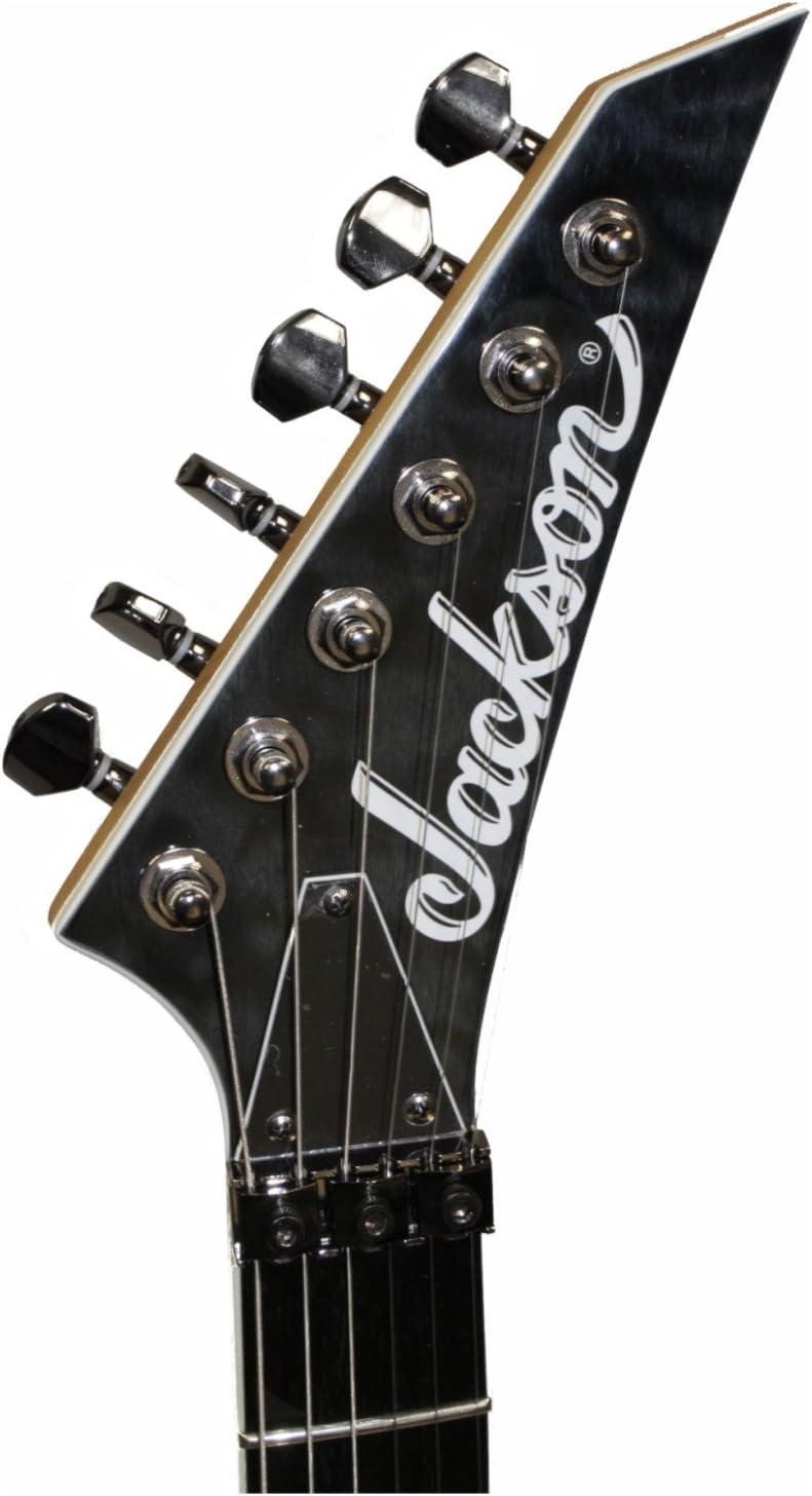 Jackson Pro Solista SL2 QM Trans negro guitarra eléctrica Material ...