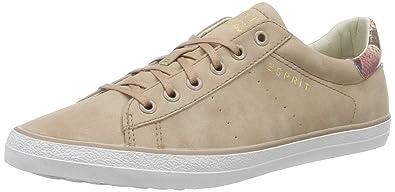 Damen Miana Lace up Sneakers, Pink (675 Dark Old Pink), 38 EU Esprit