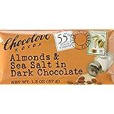 Chocolove Choc Bar Drk Ssalt&Almnd