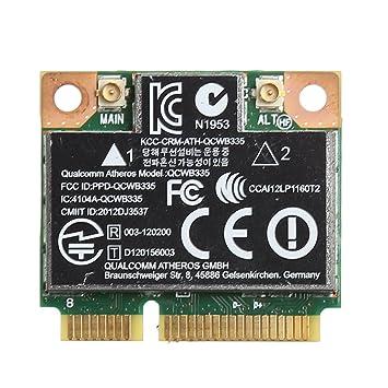 Bluetooth 4.0 Wireless Wifi Mini PCI-E Card For HP QCWB335 AR9565 SPS 733476-001