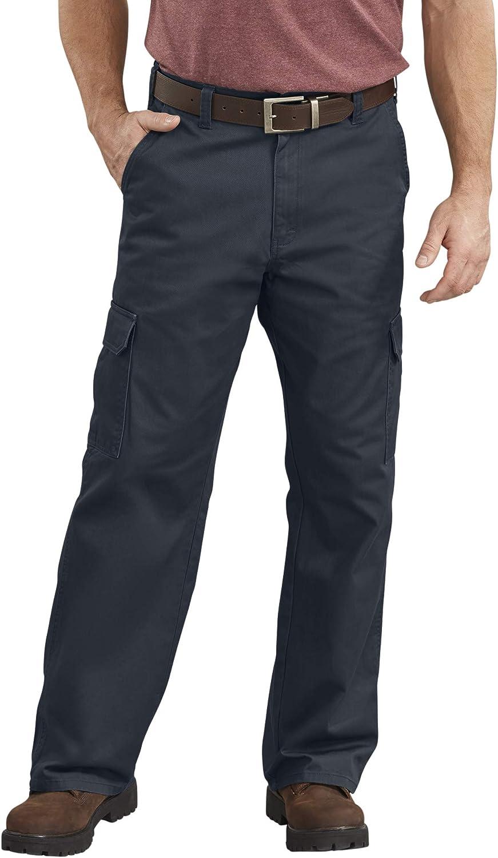 Mens Work Pants New Heavy Duty Khaki 30 x 32 Tan Beige Womens Cuffed Flat Front