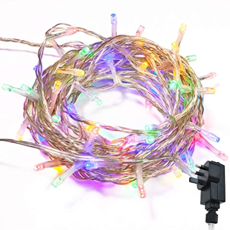 Low Voltage Christmas Lights.Fairy Lights Wisd Low Voltage Xmas Lights 22 8m 200 Led Multicolored Indoor Outdoor Use String Lights Mains Powered With 8 Modes Christmas Lights