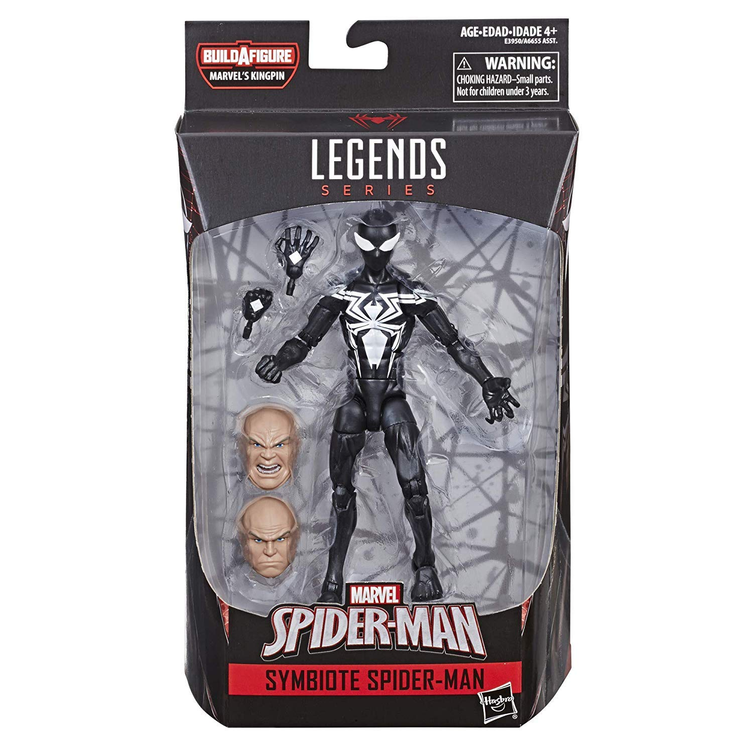 Action Figure avec BAF Kingpin en stock Marvel/'s PUMA NOUVEAU SPIDER-MAN LEGENDS