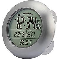 Technoline WT 3000 Reloj para baño radio-controlado (plata
